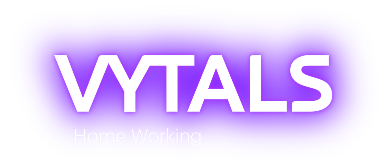 VYTALS logo Home Working