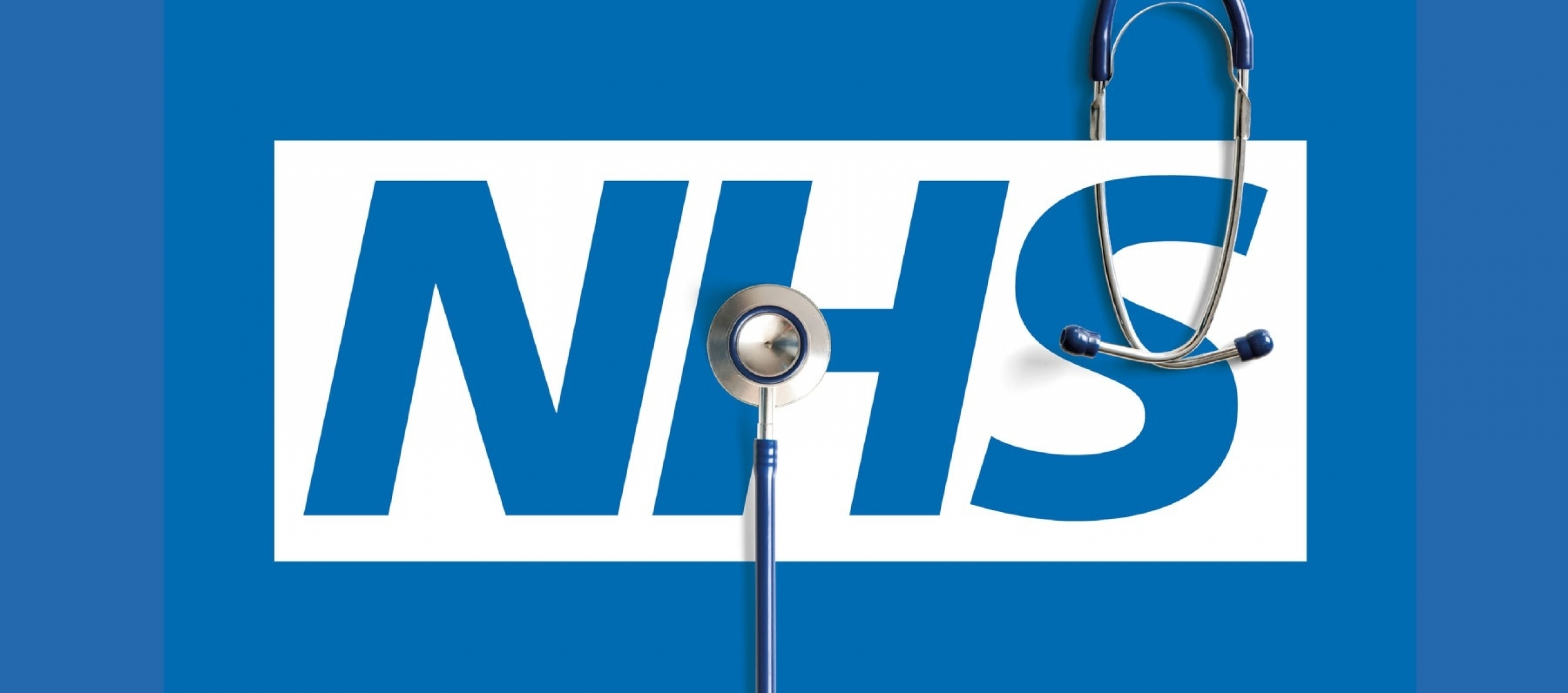 NHS - logo with stethoscope