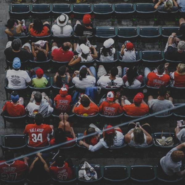 Sports fan thumb