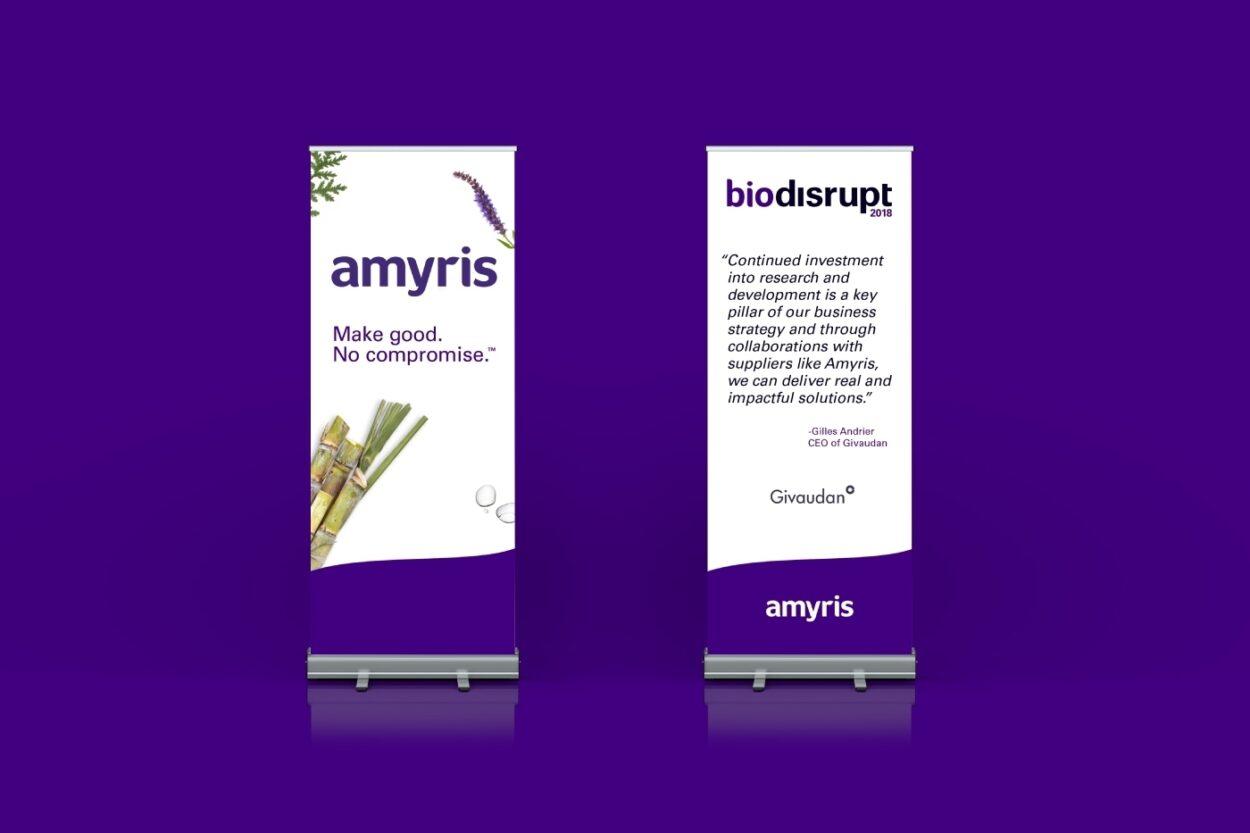 Amyris Case Study Banners