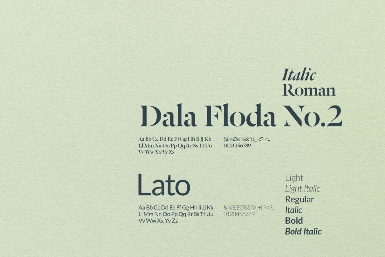 GCPartners Typography