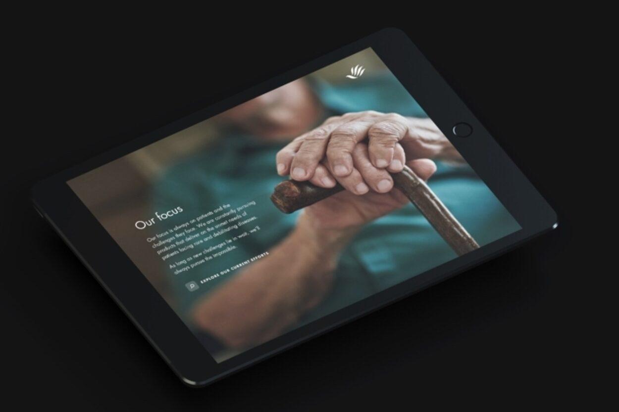 Mitsubishi Tanabe Pharma America Tablet Screen