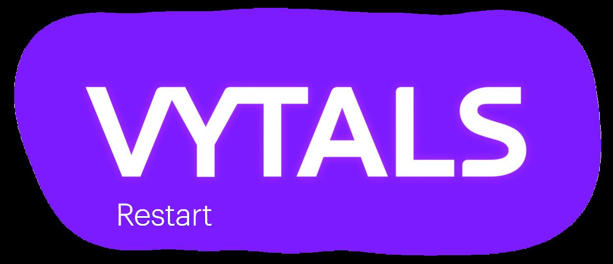 VYTALS logo Restart