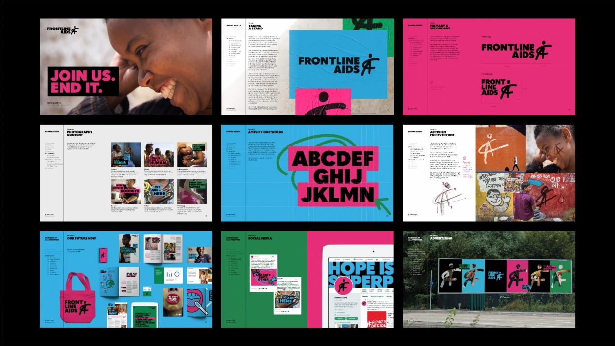 Frontline AIDS - brand guidelines