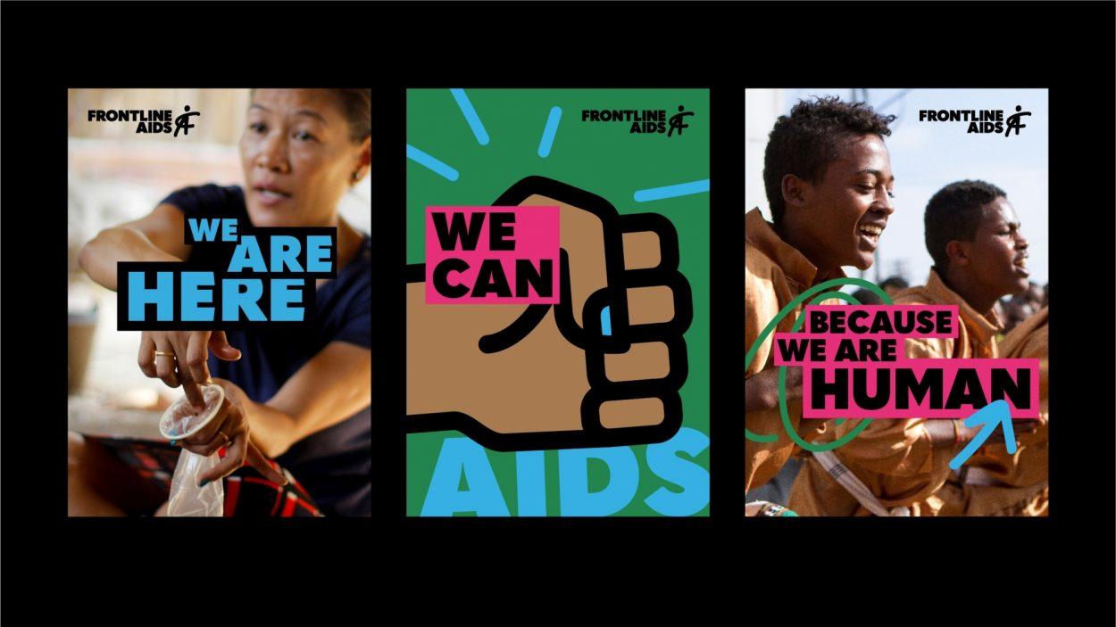 Frontline AIDS - brochures